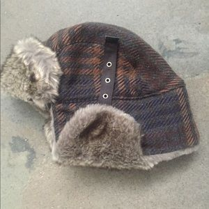 Columbia Accessories - New Columbia Trappers Fur Winter Hat 147ae072fd3f